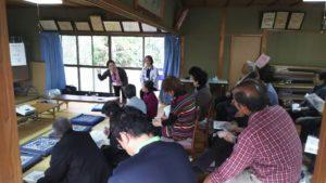 勝央苑の相談員が地域の会に参加しました